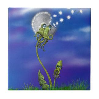 Kraken-Träume Fliese