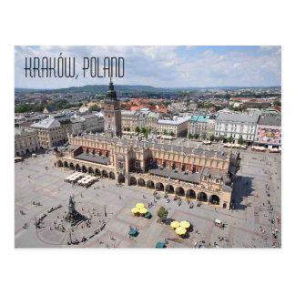 Kraków Polen Postkarte