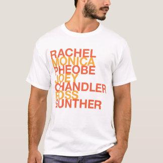 Krämer Ross Rachel Monica Pheobe Joey T-Shirt