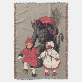Krampus, das Kinderschalter jagt Decke