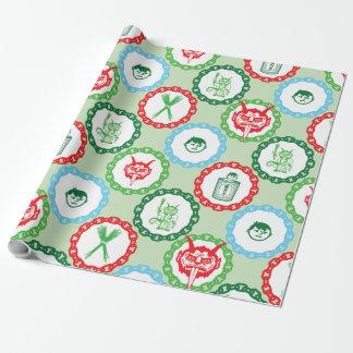 Krampus Geschenk-Verpackung Geschenkpapier