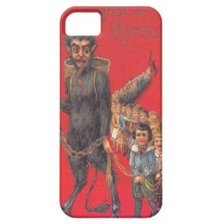 Krampus mit schlechten Kindern Barely There iPhone 5 Hülle