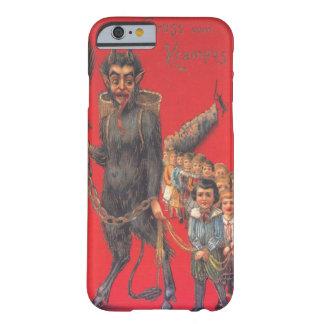 Krampus mit schlechten Kindern Barely There iPhone 6 Hülle