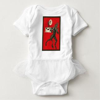 Krampus und der Victrola Baby Strampler