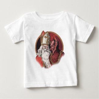 Krampus und Sankt-Weihnachten Baby T-shirt