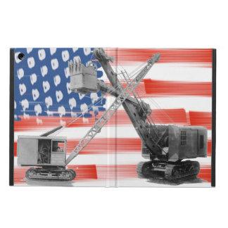 Kran-Betreiber-Nordwestkran USA-Flagge Vintag