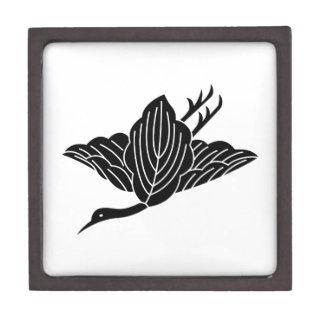 Kran-förmiges Eichen-Blätter Kiste