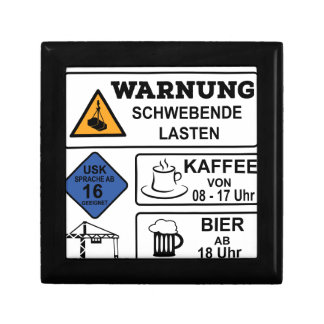 Kranführer Geschenkbox