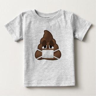 Kranke Maske kacken Emoji Baby T-shirt