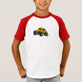 Kranke Rennwagenkinder T-Shirt