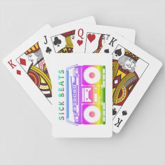 Kranke Schläge Spielkarten