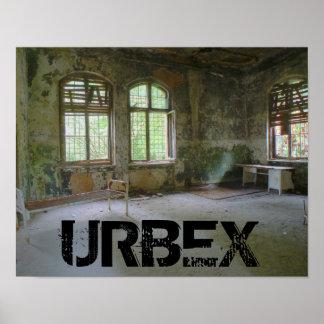 Krankenhaus Beelitz 01,0, URBEX, verlorene Plätze Poster