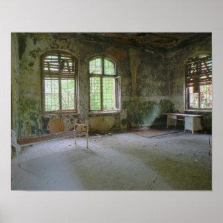 Krankenhaus Beelitz 01,0, verlorene Plätze Poster