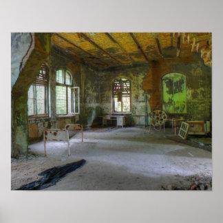 Krankenhaus Beelitz 02,0, verlorene Plätze Poster