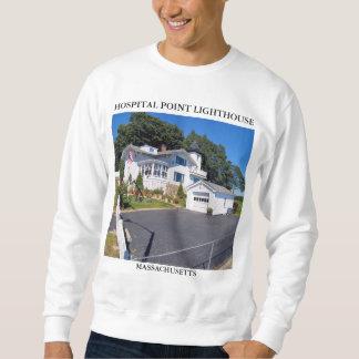 Krankenhaus-Punkt-Leuchtturm, Massachusetts Sweatshirt