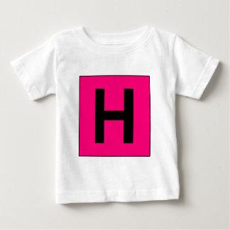 Krankenhaus-Zeichen-Straßen-Symbol-Arzt Baby T-shirt