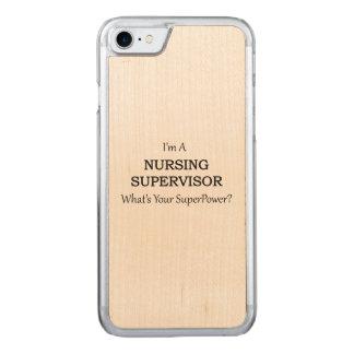 Krankenpflege-Aufsichtskraft Carved iPhone 8/7 Hülle