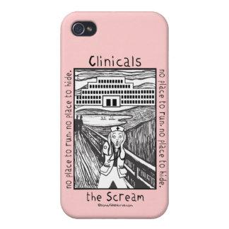 Krankenpflege Clinicals - der Schrei iPhone 4/4S Hülle
