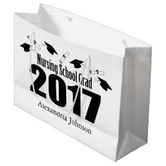 Krankenpflege-SchulAbschluss-Geschenk-Tasche 2017 Große Geschenktüte