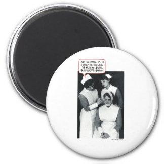 Krankenpflege-Schulblabbermouth-Verband Magnete
