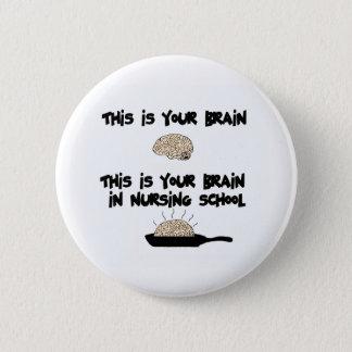 Krankenpflege-Schule Runder Button 5,7 Cm