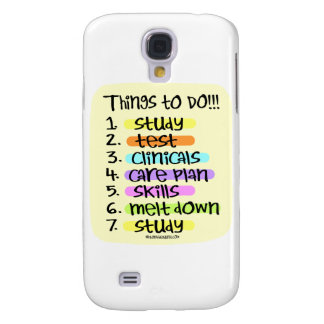 Krankenpflege-Student, zum der Liste zu tun Galaxy S4 Hülle