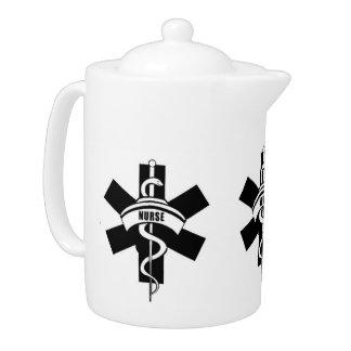 Krankenpflege-Teekannen Liebe
