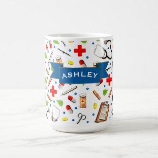 Krankenschwester-Anerkennung Kaffeetasse