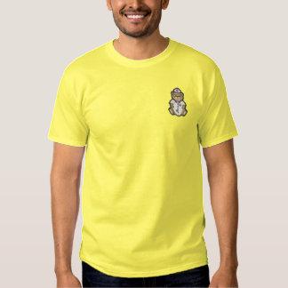 Krankenschwester-Bär Besticktes T-Shirt
