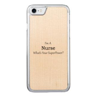 Krankenschwester Carved iPhone 8/7 Hülle