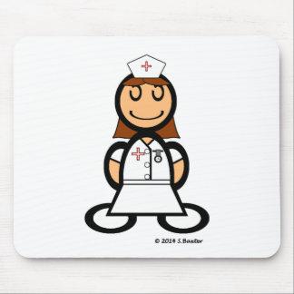 Krankenschwester (einfach) mauspad