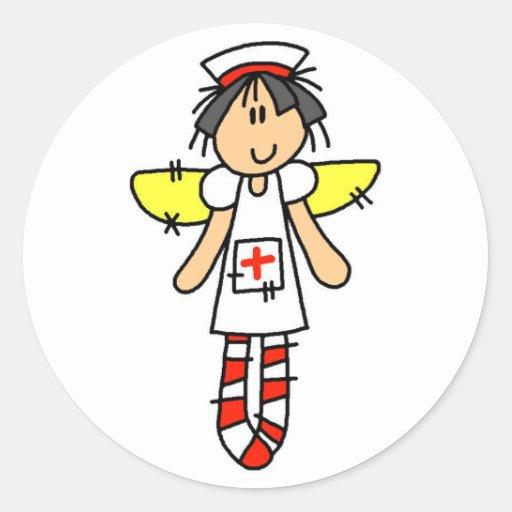 Krankenschwester-Engel Aufkleber