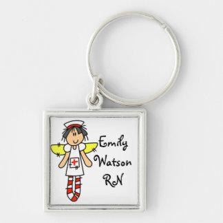 Krankenschwester-Engel personalisiert Schlüsselband