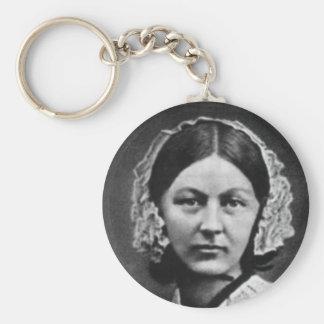 Krankenschwester Florence Nightingale Standard Runder Schlüsselanhänger