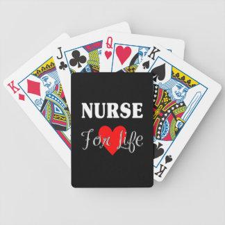 Krankenschwester für das Leben Bicycle Spielkarten