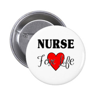 Krankenschwester für das Leben Anstecknadelbutton