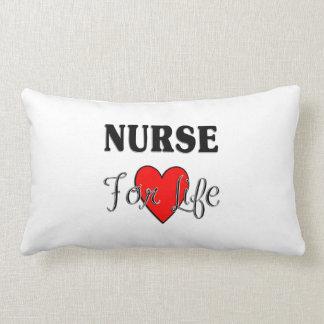Krankenschwester für das Leben Lendenkissen