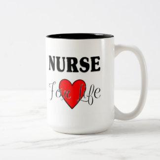 Krankenschwester für das Leben RN u. LPN Tasse