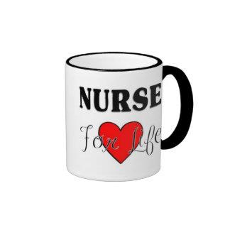 Krankenschwester für das Leben Kaffee Haferl