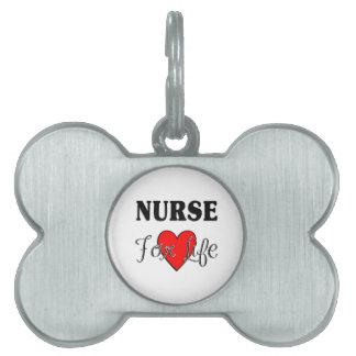 Krankenschwester für das Leben Tiermarke