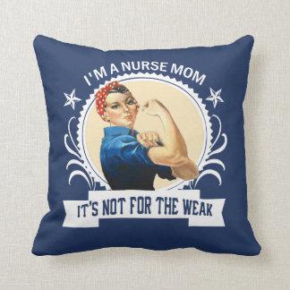 Krankenschwester-Mamma - nicht für das schwache Kissen