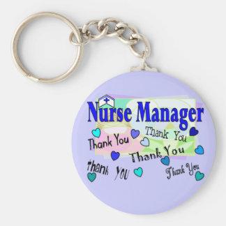 Krankenschwester-Manager DANKEN IHNEN Schlüsselbänder