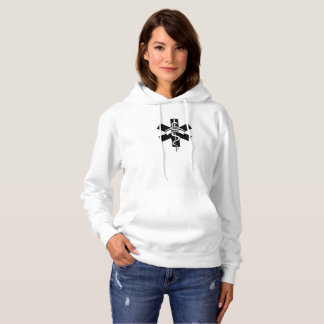 Krankenschwester-medizinisches Symbol Hoodie