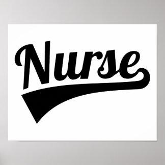 Krankenschwester Poster
