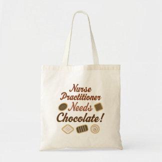Krankenschwester-Praktiker benötigt Schokolade Tragetasche