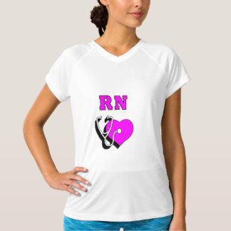 Krankenschwester RN-Sorgfalt T-Shirt