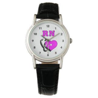 Krankenschwester RN-Sorgfalt Uhr
