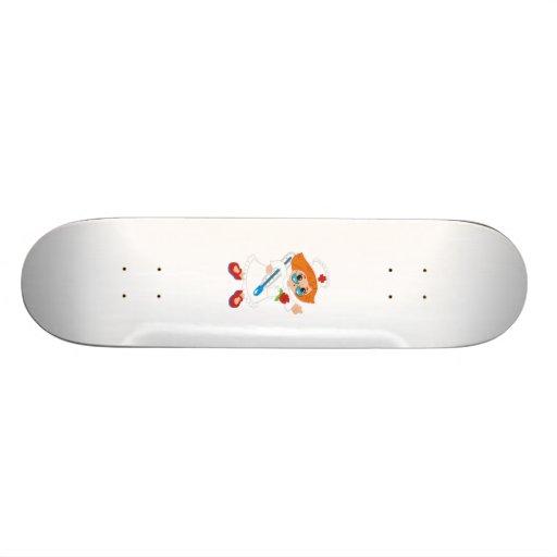 Krankenschwester Bedruckte Skateboarddecks