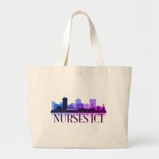 Krankenschwester-Tasche! Jumbo Stoffbeutel