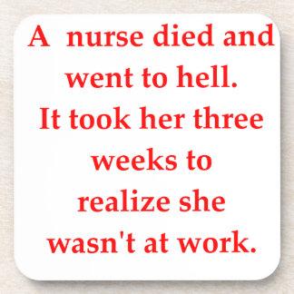 Krankenschwester Untersetzer